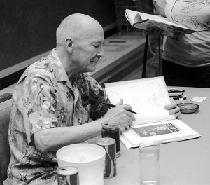 Robert A. Heinlein at the 1976 World Science Fiction Convention
