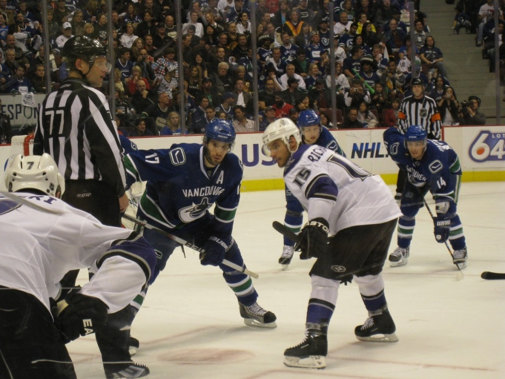 The Vancouver Canucks, Rogers Arena, Vancouver, BC, April 2010