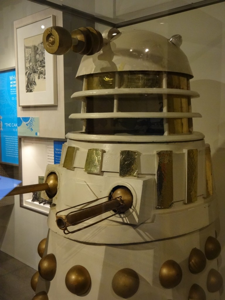 Dalek at EMP Museum, Seattle - March 2014 Photograph Copyright – Philip Harris, 2014. All Rights Reserved