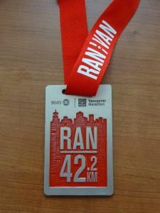 vancouvermarathonmedal2014
